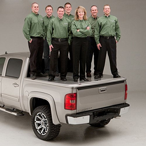 Undercover UC5076S SE Smooth Tonneau Cover Smooth Gray Finish Must Be Painted SE Smooth Tonneau Cover