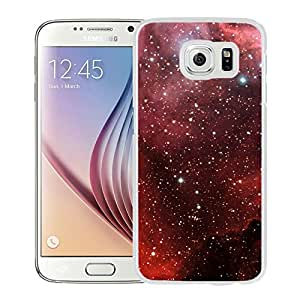 Beautiful Samsung Galaxy S6 Cover Case ,Millions Of Stars White Samsung Galaxy S6 Phone Case Unique And Durable Designed Screen Case