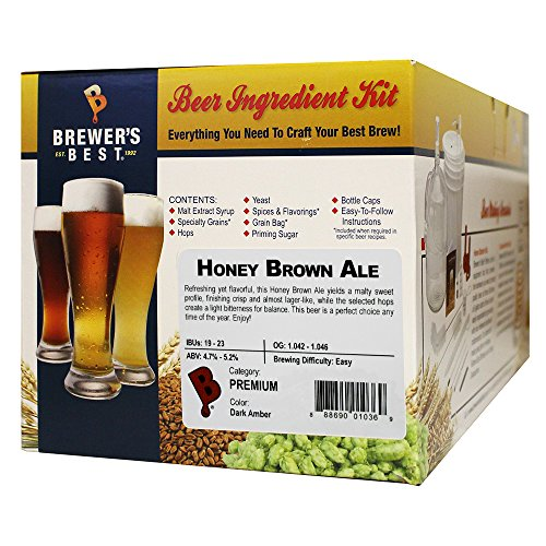 Brewer's Best Honey Brown Ale Beer Ingredient Kit
