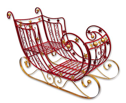 Sunset Vista Designs Star Sleigh (Sleigh Decoration Santa)