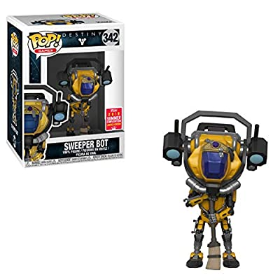 Funko Pop Destiny Sweeper Bot Summer Convention Exclusive Figure: Toys & Games