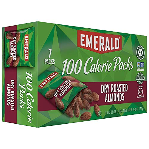 Emerald Nuts, Dry Roasted Almonds, Value 1 Pack (1.25 Ounce ea, 12 Count Total)