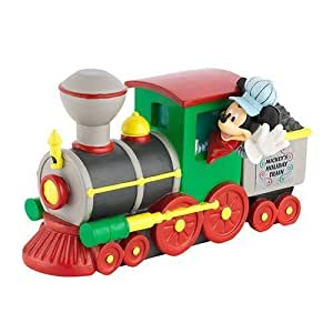 "Department 56 Disney Mickey's Merry Christmas Village ""Mickey's Holiday Train"" Engine Accessory #4032204 by Department 56"