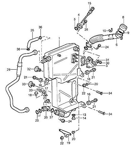 Oil Level And Oil Temperature Sensor Porsche Boxster 986 Boxster