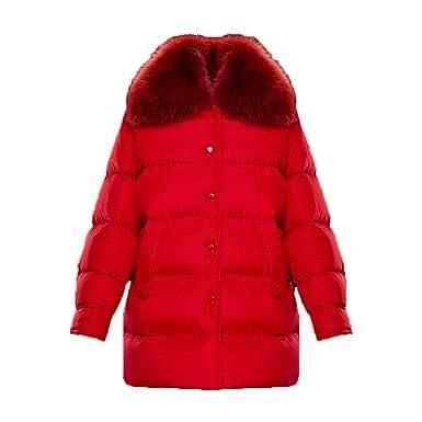 6806a6b33 Amazon.com: Moncler Womens Mesange Down Jacket, Red, Size 3 (L ...