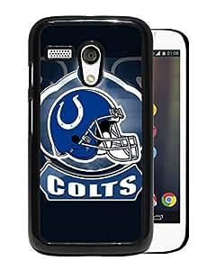 Indianapolis Colts 19 Black Fashionable Design Motorola Moto G Plastic Case