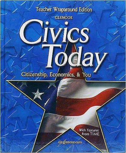Civics Today: Teacher's Wraparound Edition: Remy: 9780078609718 ...