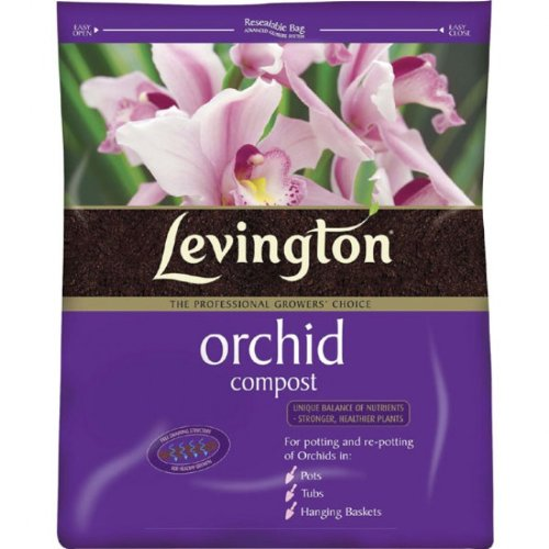 Orchid Compost Fertilizer Plants Levington Composts for Orchids 8L Free Draining