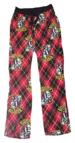 Harry Potter Gryffindor Crest Fleece Sleep Pants - X-Small (Harry Potter Shop)