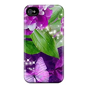 DustinHVance Case Cover For Iphone 4/4s - Retailer Packaging Purple Pink Destination Protective Case