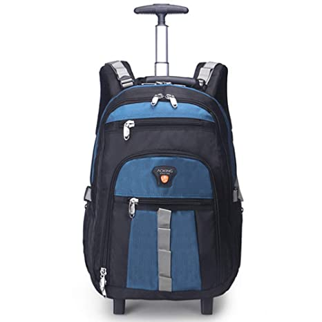 5f0a76276ed1 Amazon.com: AUNLPB Laptop Backpack Fits 22 Inch, Rolling Backpack ...