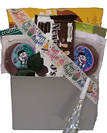 Image Unavailable. Image not available for. Color Vegan Birthday Gift Basket & Amazon.com : Vegan Birthday Gift Basket : Brownies : Grocery ...