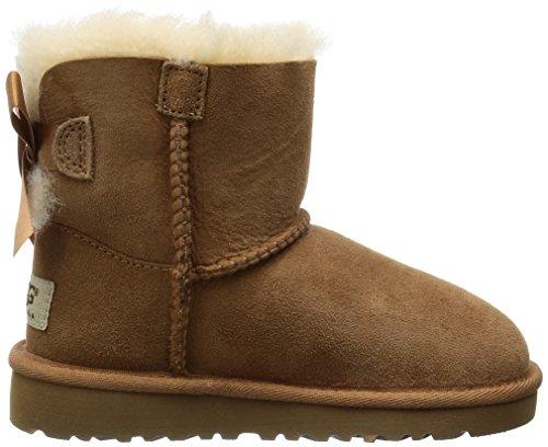 UGG Mini Bailey Bow, Mocasines para Bebés: Amazon.es: Zapatos y complementos
