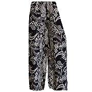 WearAll Plus Size Women's Palazzo Trousers – –