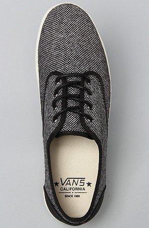 Pour Vans De Noir Homme Lacets Chaussures Ville À 8xxwOFnT4