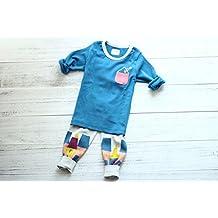 Korea autumn set portable box boy set cotton underwear children underwear set , 120cm equivalent to #65