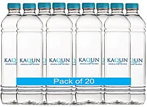 KAQUN WATER 20 pack, Oxygenated, refreshing, pronounced Cocoon