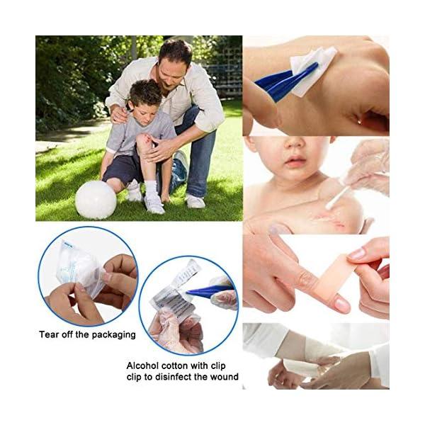 Th-some JAANY Botiquín de Primeros Auxilios de artículos, Survival Tools Mini Box Kit Bolsa Médica para Emergencias para… 4