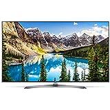 LG 55 Inch 4K Ultra HD LED Smart TV - 55UJ752V, Black