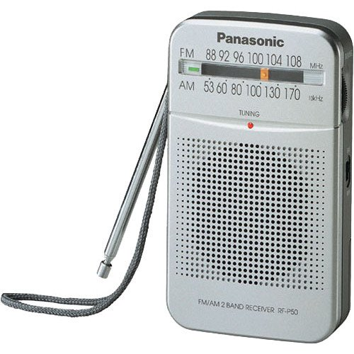 Panasonic AM/FM Pocket Radio