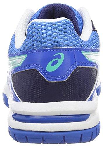 White Blau Blue Gel Squad Damen Electric Navy Handballschuhe 3901 Asics nRW70Uw6U