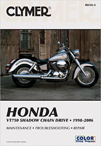 Super Honda Vt750 Shadow Chain Drive 1998 2006 Clymer Motorcycle Repair Wiring Digital Resources Antuskbiperorg