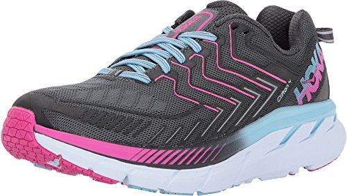 HOKA ONE ONE Women's Clifton 4 Running Shoe (Best Running Shoes For Flat Feet 2015)
