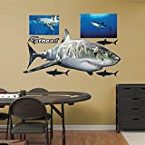 FATHEAD Great White Shark Real Big Wall Decors