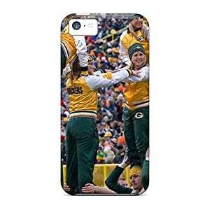 Tpu Shockproof/dirt-proof Green Bay Packers Cheerleaders Cover Case For Iphone(5c)