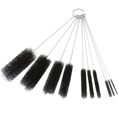 gioielli confezione da 10 pezzi occhiali tastiere cannucce Gemini/_mall/® Scovolini di nylon e acciaio inossidabile per pulire tubi bottiglie