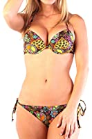 Ingear Sexy Underwire Bra/string Push up Bikini Set
