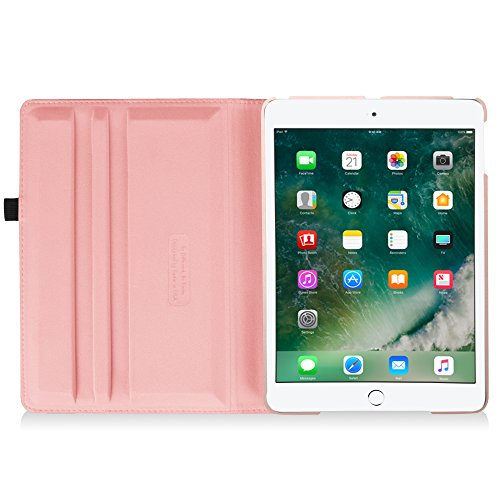 Fintie New iPad 9.7 inch 2017 / iPad Air Case - 360 Degree Rotating Stand Cover with Auto Sleep Wake for Apple New iPad 9.7 inch 2017 Tablet / iPad Air 2013 Model, Rose Gold Photo #8