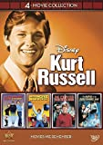 DVD : Disney 4-Movie Collection: Kurt Russell (Strongest Man in World / Computer Wore Tennis Shoes / Horse in the Grey Flanel / Now You See Him)