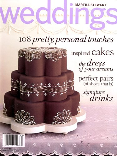 Martha Stewart Weddings Amazon Magazines