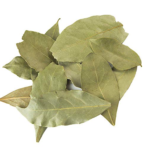 Mediterranean Bay Leaves : Laurel Leaf : Dried Herb Kosher (9oz.) by Burma Spice (Image #2)