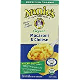 Annie's Homegrown Organic Macaroni & Cheese-6oz -Pack of 4
