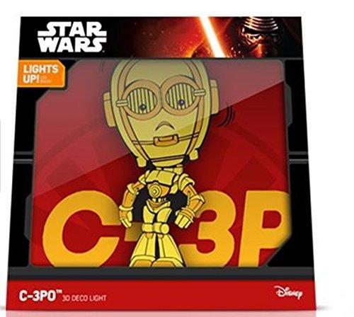 Star Wars 3D FX Deco Wall Light (C-3PO) ()