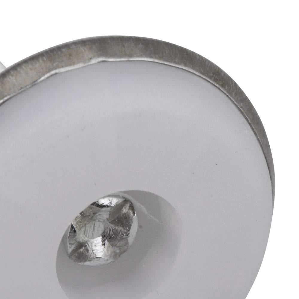 BQLZR Lot de 20 pieds de nivellement r/églables pour fond blanc M6 x 30 x 20 mm 31,9 mm