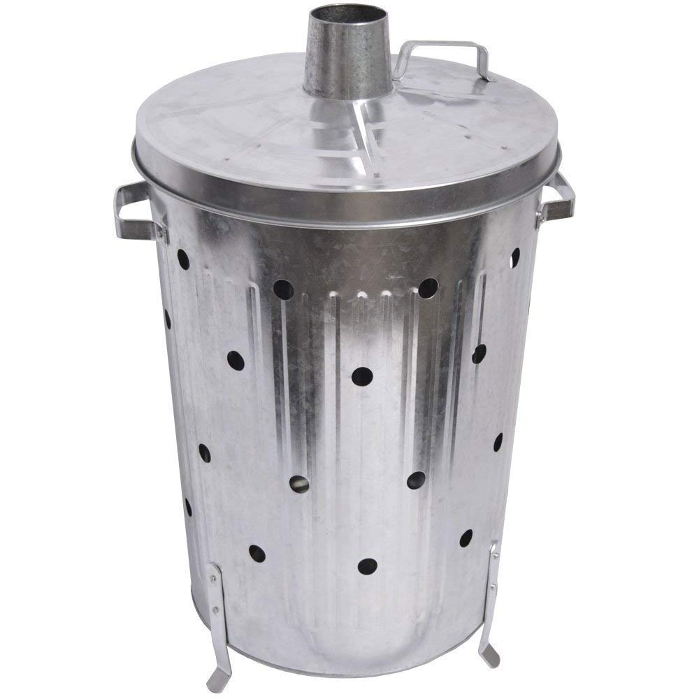 Trendi® FIRE INCINERATOR 90L Fast Burner Holes All The Way Up for Paper and Garden Rubbish