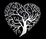 Cheap Heart Shaped Tree of Life Steel Plaque