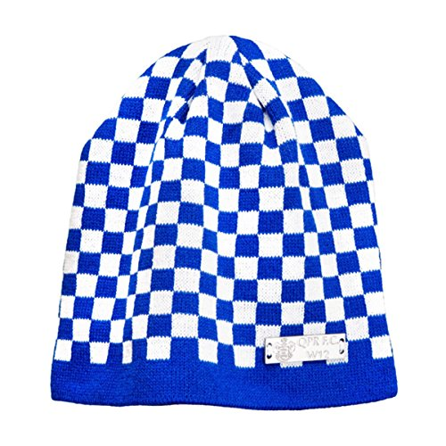 Official QUEENS PARK RANGERS QPR FC Blue and White beanie hat