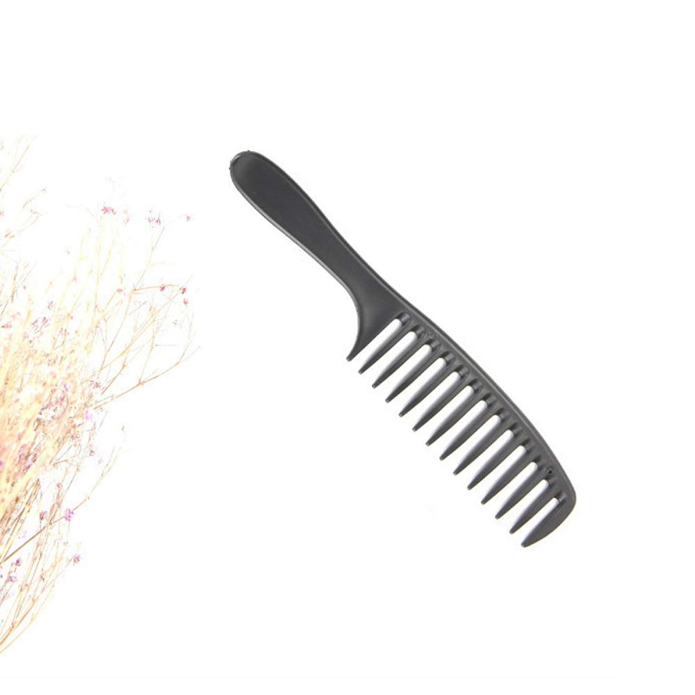 XIMINGJIADIAN Comb, Wide-toothed Comb, Perm Curls, Hair Comb, Black. Hairdressing Gadget by XIMINGJIADIAN