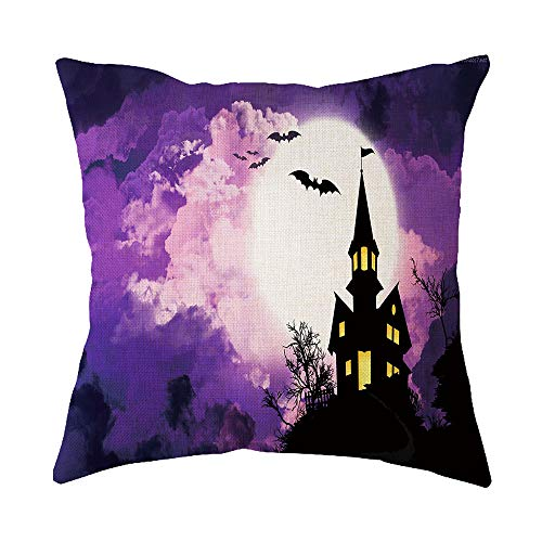 Vovotrade Halloween Decorations Pumpkin Pillowcases Thanksgiving Zipper Cushion Pillows Cover 18 x 18 inch
