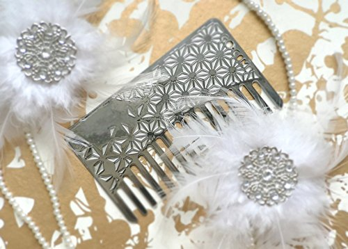 Go-Comb - Wallet Comb + Mirror - Sleek, Durable Stainless Steel Hair Comb with Travel Mirror