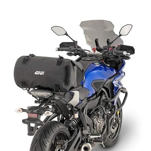 Impermeable Universal Bolsa de pl/ástico ABS para Aprilia DORSODURO 1200 para sill/ín 2 Correas para fijaci/ón 27 x 27 x 50 cm Scooter Moto GIVI EA114BK 30LT