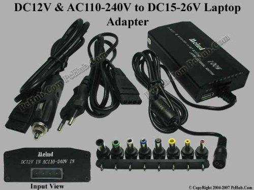 Neuheit 3in1 Notebook / Laptop Universal Netzteil 100 Watt für KFZ und Zuhause + 5V Usb Anschluß für Mp3 / MP4 / Digicams ect