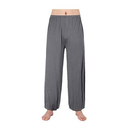 WEINISITE Yoga pantalones Entrenamiento Pantalones para Hombre