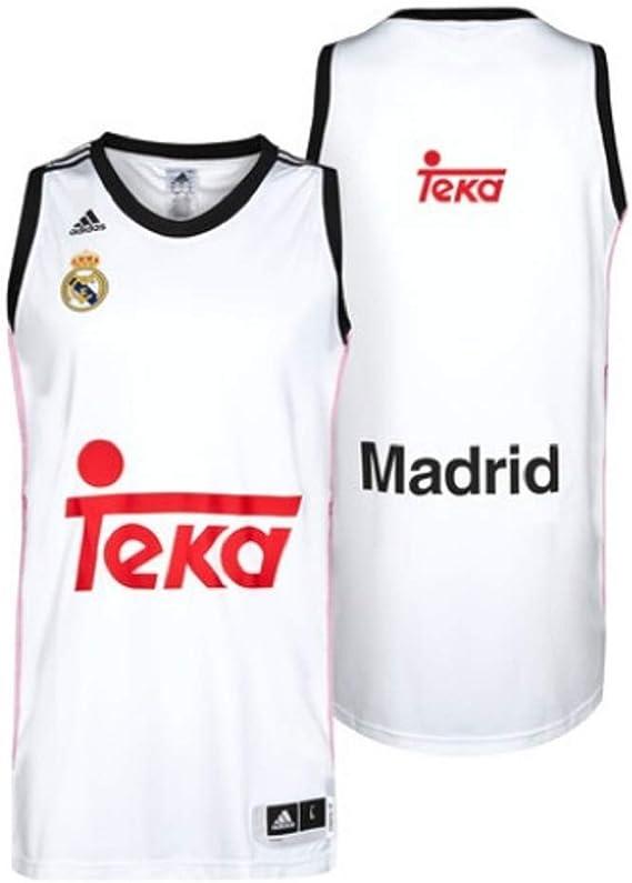 Camiseta Real Madrid Basket 1ª 2014-15: Amazon.es: Deportes y aire ...