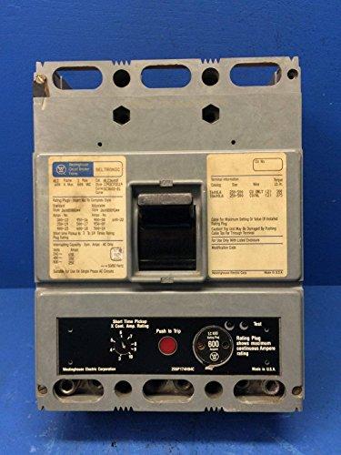 Westinghouse HLC3600F 600A Seltronic Circuit Breaker 600 Amp Plug Cutler Hammer