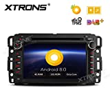 Cheap XTRONS 7″ Android 8.0 Octa Core 4G RAM 32G ROM HD Digital Multi-Touch Screen OBD2 DVR Car Stereo DVD Player Tire Pressure Monitoring WiFi OBD2 for Chevrolet GMC Hummer